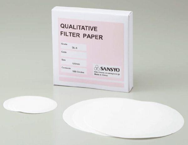 定性濾紙 QL-Aφ150(100枚)