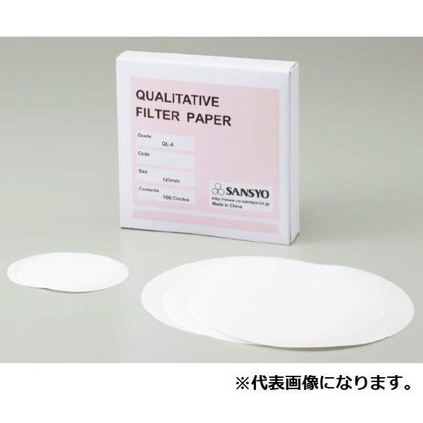 定性濾紙 QL-Bφ90(100枚)